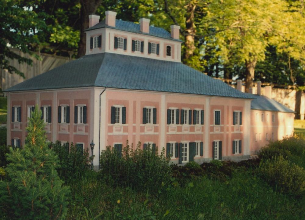 Schloss Ratibořice (Modell im Park Boheminium)