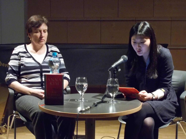 Anna Kim liest im Österreichischen Kulturforum Prag