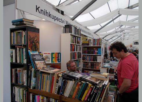 Auch Buchhandlungen präsentierten sich auf der Buchmesse.