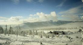 Riesengebirge: Spindlerbaude an der Grenze zu Polen